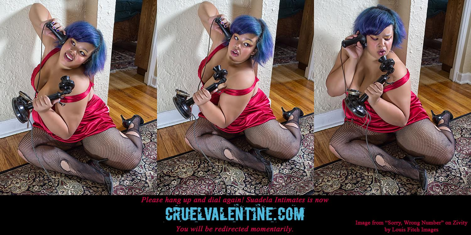 Suadela Intimates is now CruelValentine.com